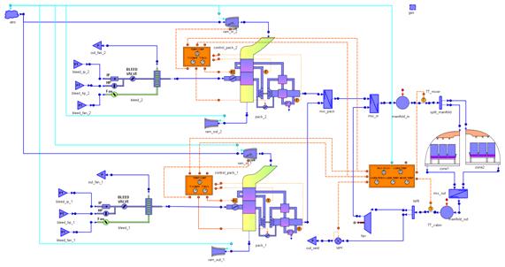 ECS example schematic
